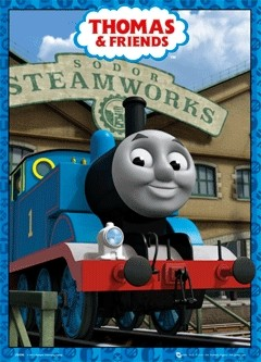 THOMAS AND FRIENDS 3D Poster