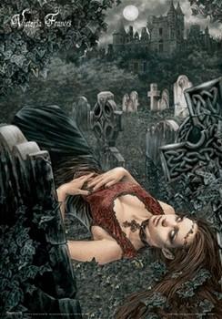 3D Poster VICTORIA FRANCES - echo of death