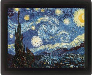 Framed 3Dposter VINCENT VAN GOGH - starry night