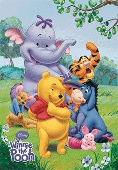 3D Poster WINNIE THE POOH