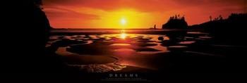 Poster emoldurado Dreams