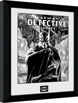 Batman Comic - Detective Poster Emoldurado