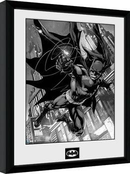 Batman Comic - Hook Poster Emoldurado