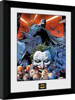 Batman Comic - Joker Defeated Poster Emoldurado