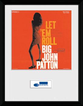 Blue Note - Patton Poster emoldurado de vidro