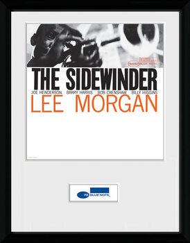 Blue Note - Sidewinder Poster emoldurado de vidro