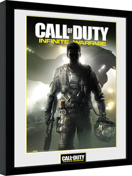 Call of Duty Infinite Warfare - Key Art Poster Emoldurado