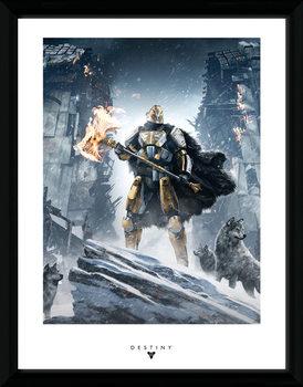 Destiny - Rise of Iron Poster emoldurado de vidro