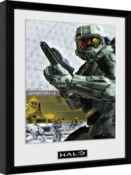 Halo 5 - Spartan Poster Emoldurado