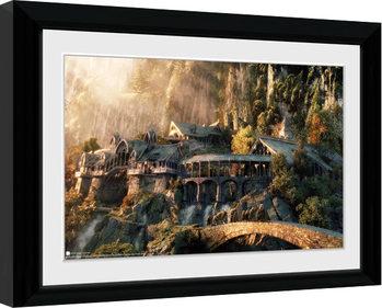 Lord Of The Rings - Fellowship Of The Ring Poster Emoldurado