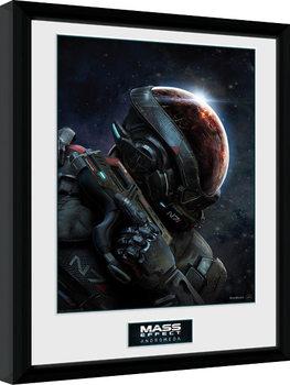 Mass Effect Andromeda Poster Emoldurado