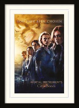 MORTAL INSTRUMENTS - chosen Poster emoldurado de vidro