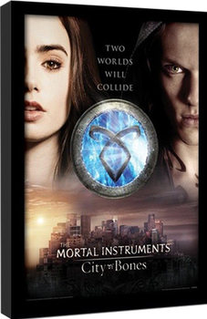 MORTAL INSTRUMENTS - two Poster Emoldurado