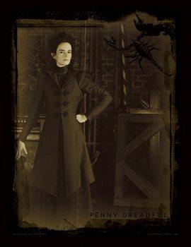 Penny Dreadful - Sepia Poster emoldurado de vidro