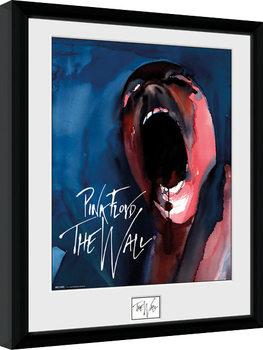 Pink Floid: The Wall - Scream Poster Emoldurado