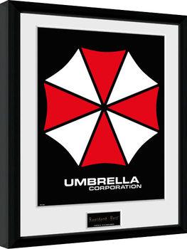 Resident Evil - Umbrella Poster Emoldurado