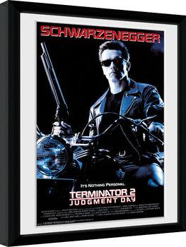 Terminator 2 - One Sheet Poster Emoldurado
