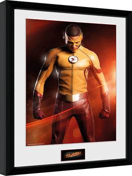 The Flash - Kid Flash Poster Emoldurado