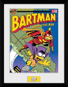 The Simpsons - Bartman Poster Emoldurado