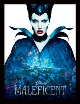 Poster emoldurado de vidroMaleficent - One Sheet