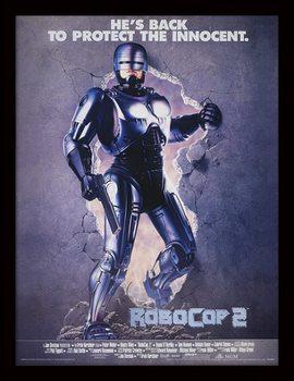 Poster emoldurado de vidroROBOCOP 2 - 1990 one sheet