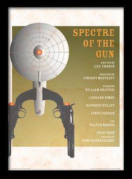 Poster emoldurado de vidroStar Trek - Spectre Of The Gun