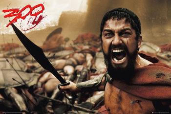 300 - spartan Poster