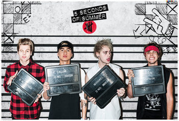 5 Seconds of Summer - Good Girls Landscape Poster