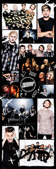 5 Seconds Of Summer - Grid 2 Poster, Art Print