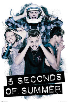 5 Seconds of Summer - Headache Poster, Art Print