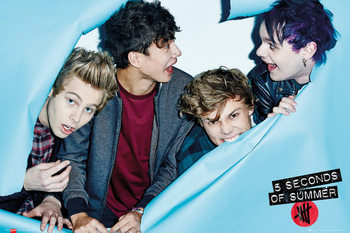5 Seconds Of Summer - Rip Poster