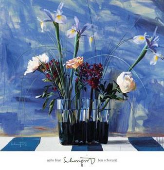 Aalto Blue Art Print