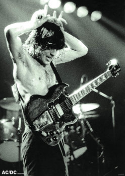 AC/DC - Angus Young 1979 Poster