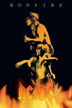 AC/DC - bonfire Poster