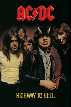 AC/DC - highway to hell Poster, Art Print