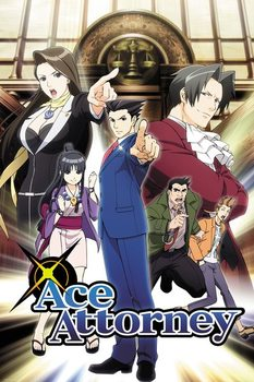Poster  Ace Attorney - Key Art