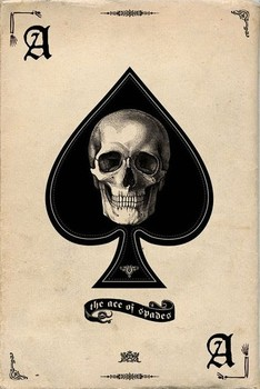 Ace of Spades Poster, Art Print