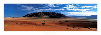 African Landscape - Namibie Art Print
