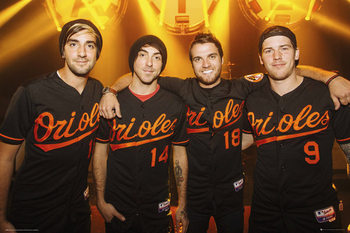 All Time Low - Group Poster, Art Print