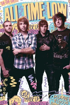 All time low - portrait Poster