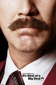 ANCHORMAN 2 - teaser Poster, Art Print