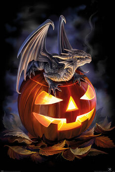 Anne Stokes - Trick or Treat Poster