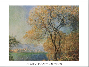 Antibes in the Morning - Morning at Antibes Art Print