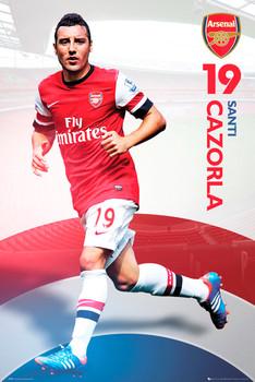 Arsenal - Cazorla 12/13 Poster