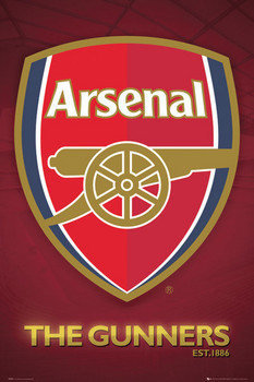 Arsenal - club crest 2013 Poster