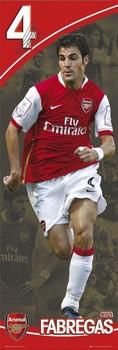 Arsenal - fabregas 07/08 Poster