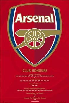 Arsenal - honours Poster