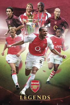 Arsenal - legends Poster