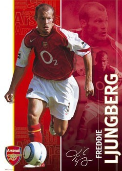 Arsenal - Ljungberg Poster