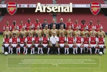 Arsenal - Team photo 07/08 Poster
